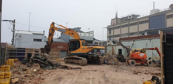 Commercial Demolition in North Melbourne 3