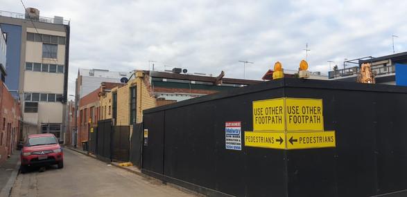 Commercial Demolition in North Melbourne 2