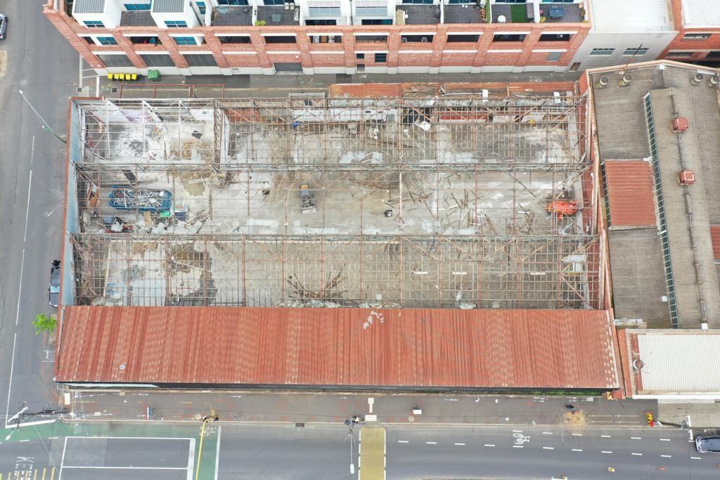 Kensington Factory Demolition