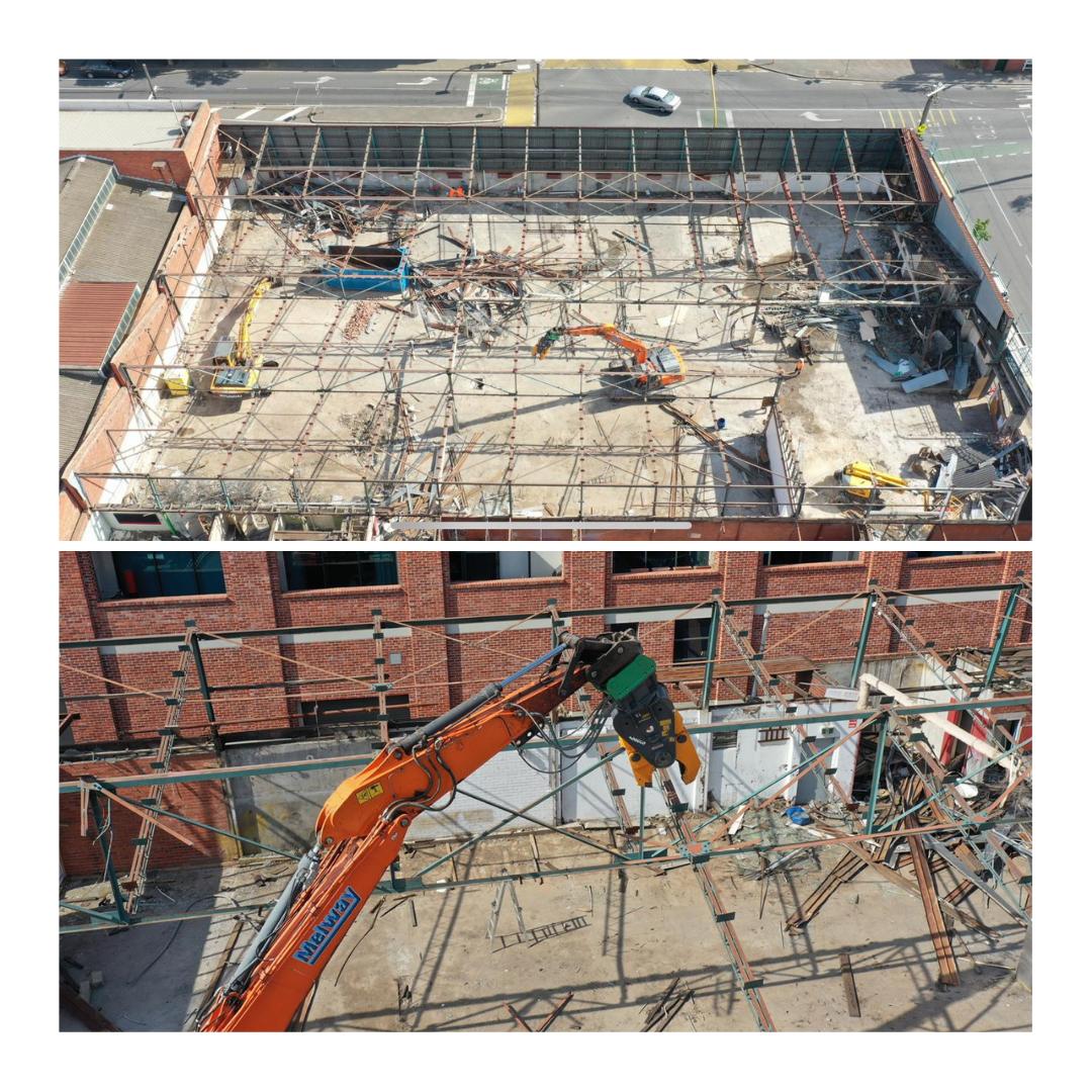 Kensington Warehouse Demolition