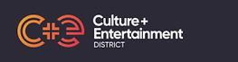 Culture and Entertainment District,logo.