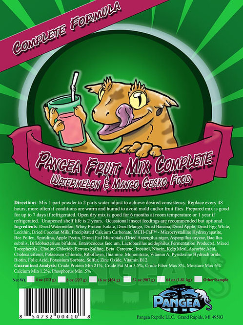 Pangea Fruit Mix Complete Gecko Diet Watermelon-Mango