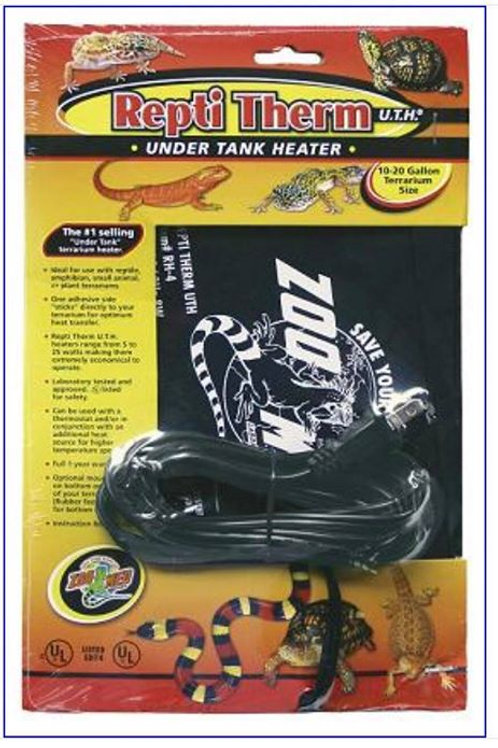 Zoo Med Under Tank Heater (10 to 20 gallons)