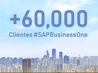 SAP Business One supera los 60,000 clientes