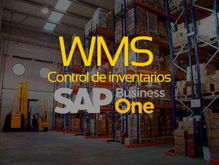 Controla tus inventarios desde la palma de tu mano con nuestro WMS para SAP Business One