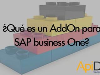 ¿Que es un AddOn para SAP Business One?