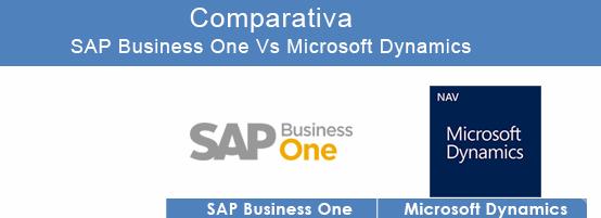 Comparativa SAP vs Dynamics