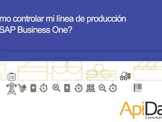 ¿Cómo controlar mi línea de producción con SAP Business One?