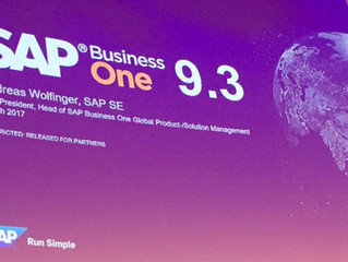 ¿Qué hay de nuevo con SAP Business One 9.3?
