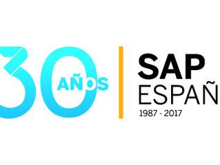 SAP festeja 30 años en España