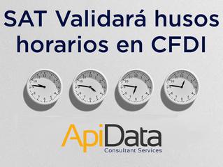 SAT validará husos horarios en los CFDI's