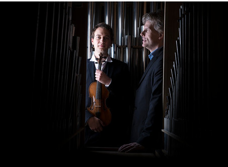 The Violin And The Romantic Organ