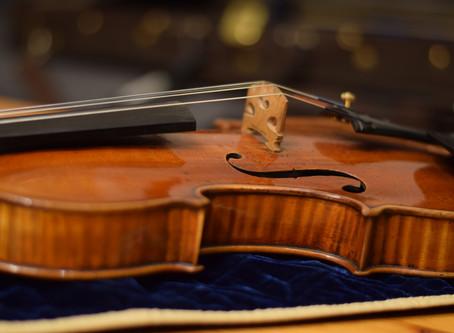 My new Guadagnini Violin