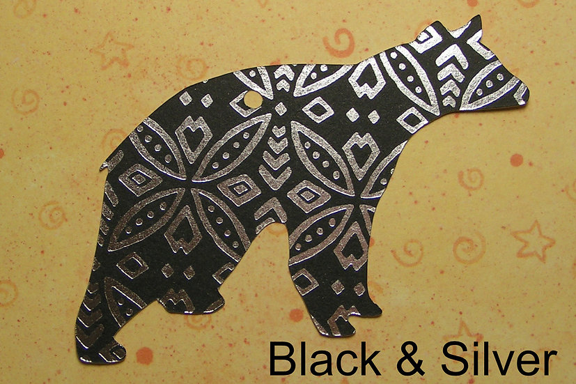 Black Bear Gift Tags