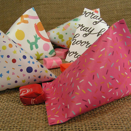 Party Theme Treat Bags