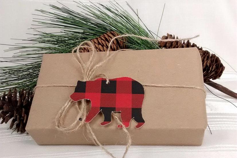 Brown Bear Gift Tags