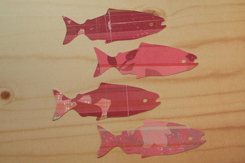 King Salmon Gift Tags