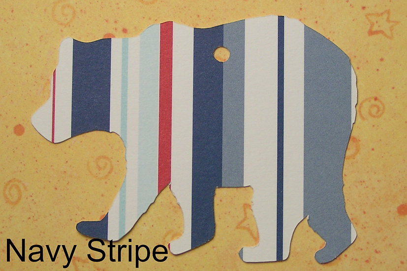 Brown Bear Gift Tags