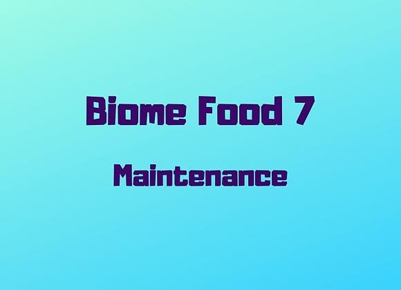 Biome Food 7 Maintenance