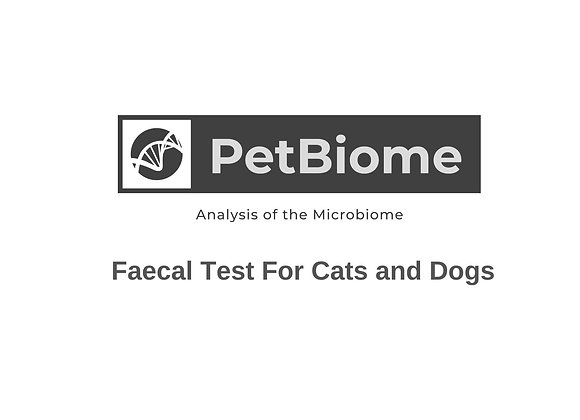 Cat and Dog Faecal Test Kit