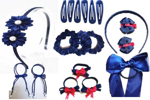 Bulk Set of Hair Accessories 19pc