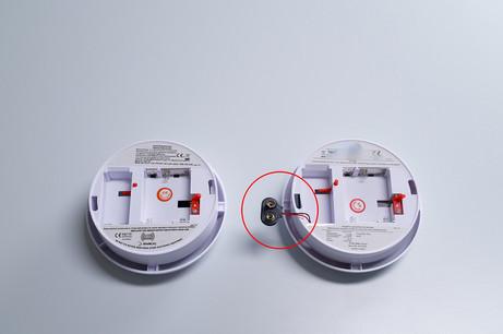DiBK advarer mot røykvarslere uten batteriputer!