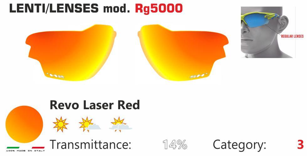 RG 5000 LENS/LENTE REVO LASER RED