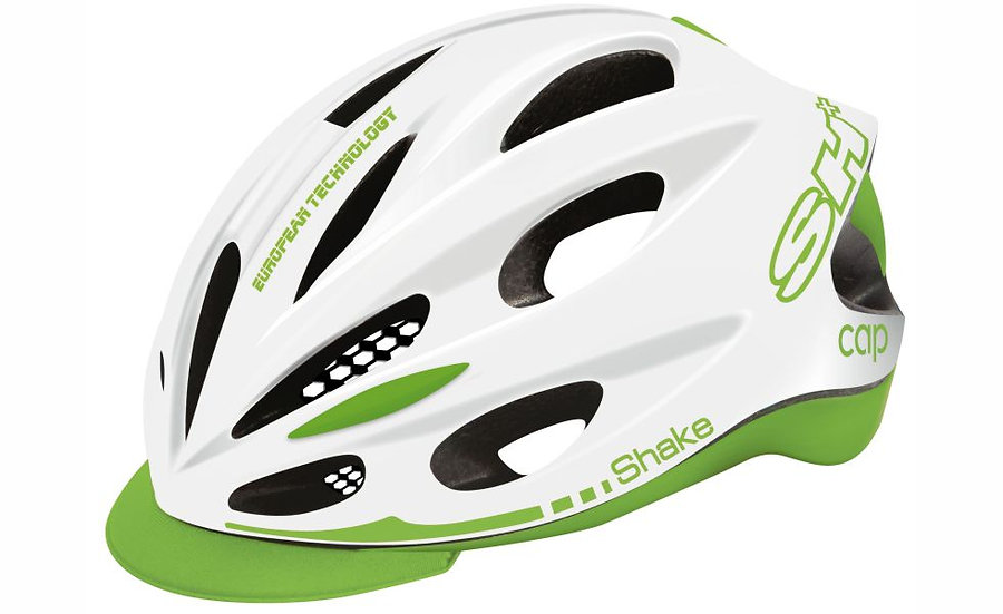 SHAKE CAP WHITE  GREEN