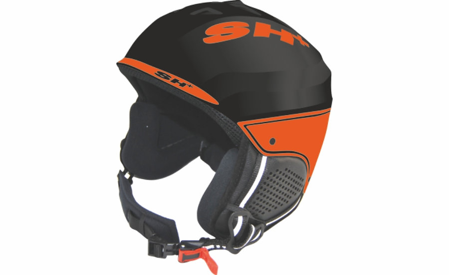 SHIVER COMBI BLACK MATT ORANGE