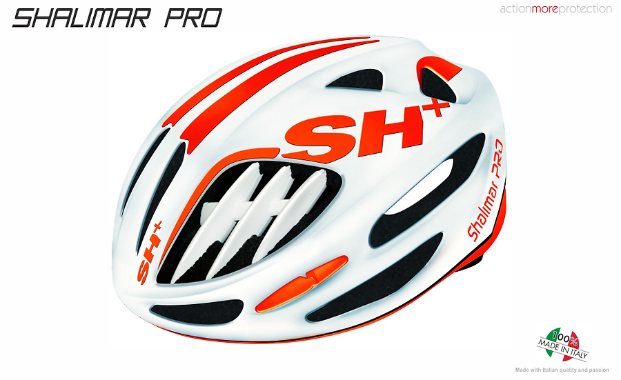 SHALIMAR PRO - WHITE MATT ORANGE FLUO