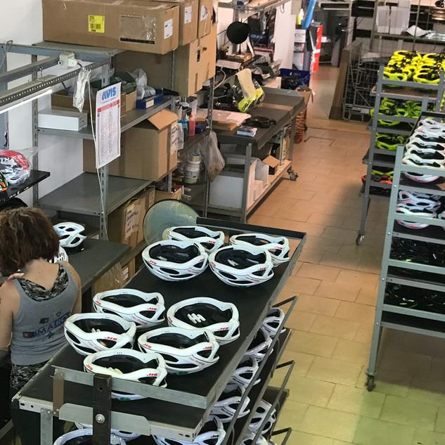 helmet production