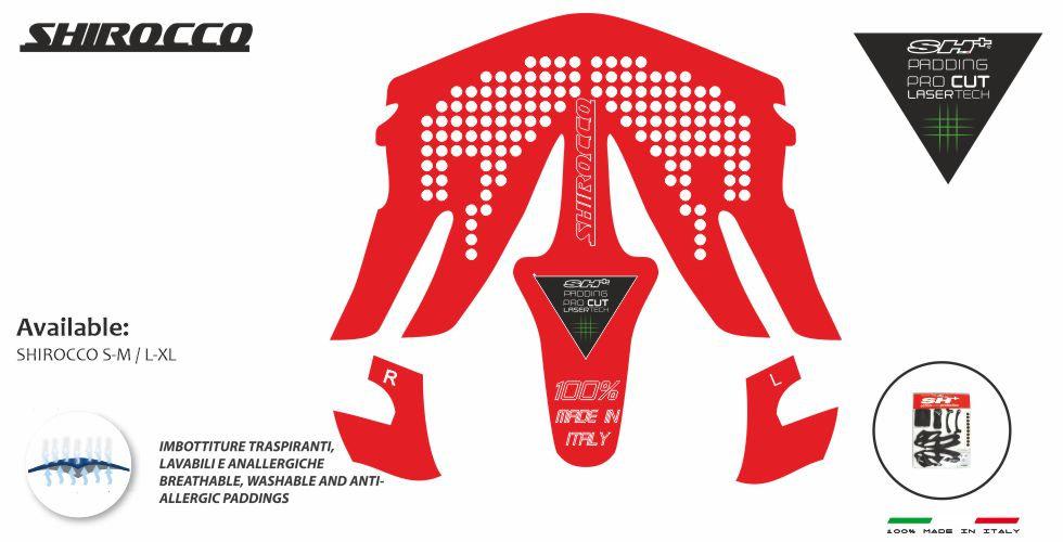 PADDING/INTERNO RED  SHIROCCO