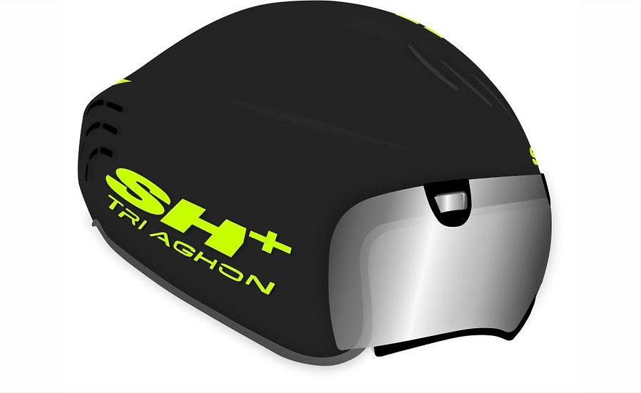 TRIAGHON - GLOSSY BLACK YELLOW FLUO