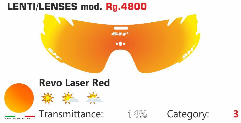 RG 4800 LENS/LENTE REVO LASER RED