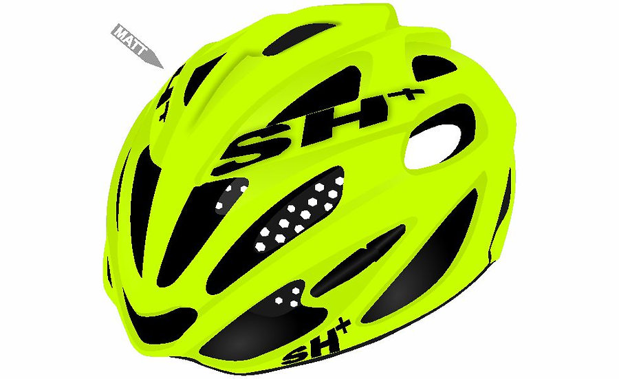 SHABLI S-LINE - YELLOW FLUO MATT