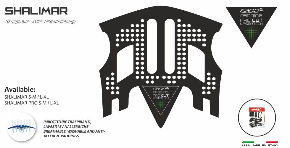 PADDING/INTERNO SUPER AIR BLACK SHALIMAR