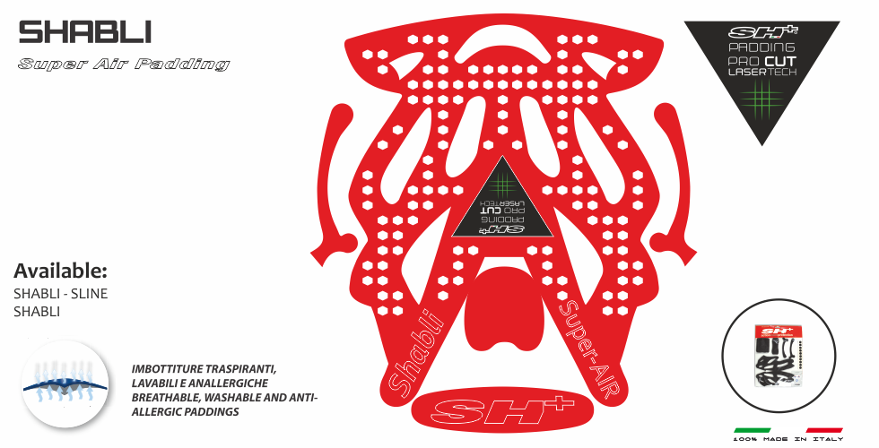 PADDING/INTERNO RED SHABLI SUPER AIR