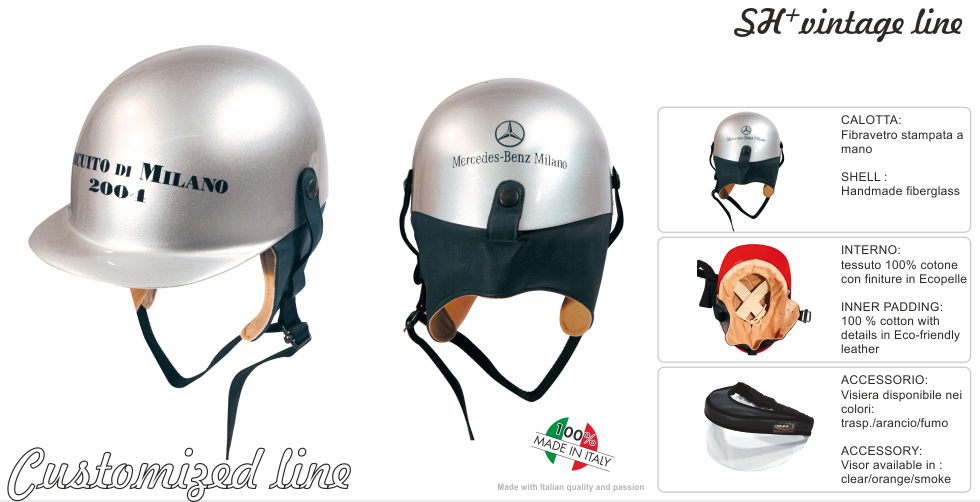 VINTAGE HELMET -CUSTOMIZED 4