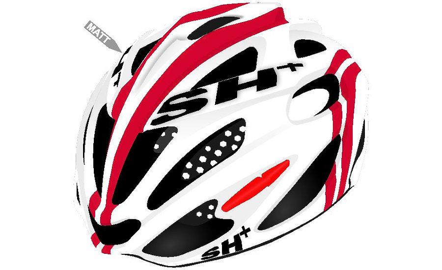 SHABLI S-LINE - WHITE RED MATT
