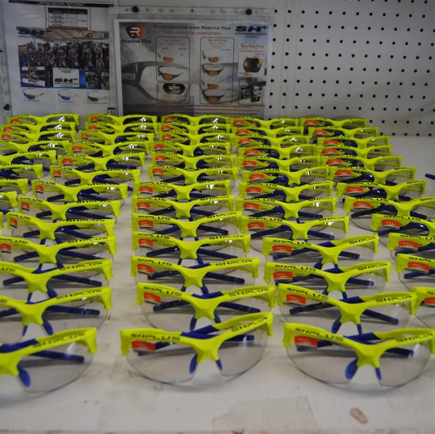 eyewear production