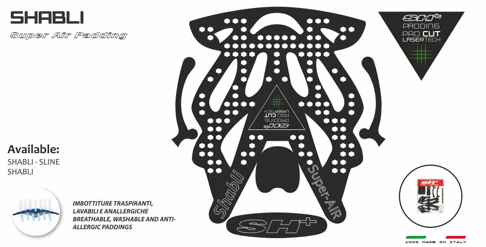 PADDING/INTERNO BLACK SHABLI SUPER AIR