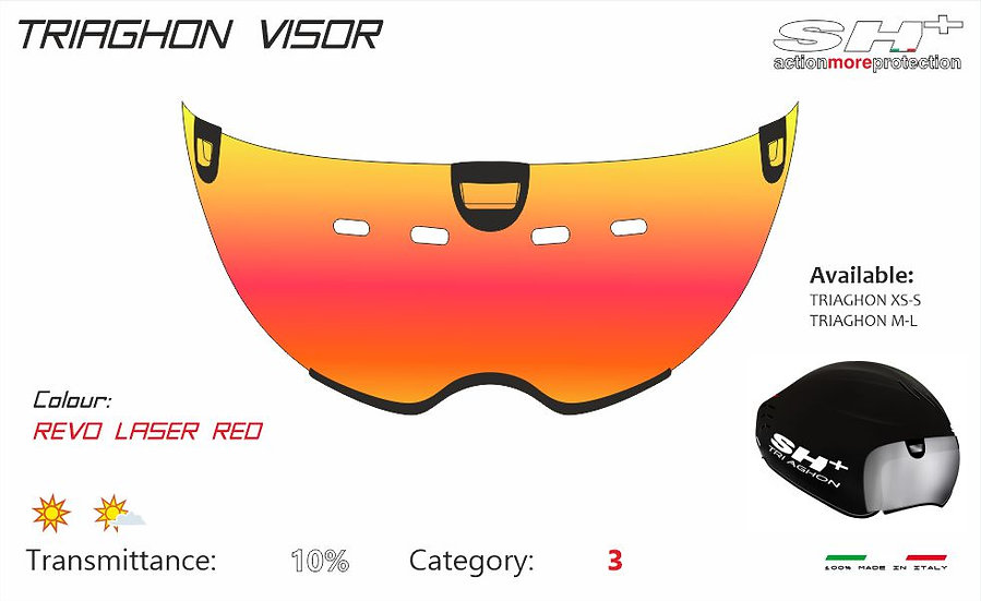 VISOR LASER RED TRIAGHON