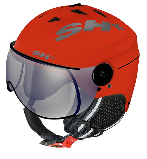 SHIVER VISOR REACTIVE ORANGE FLUO
