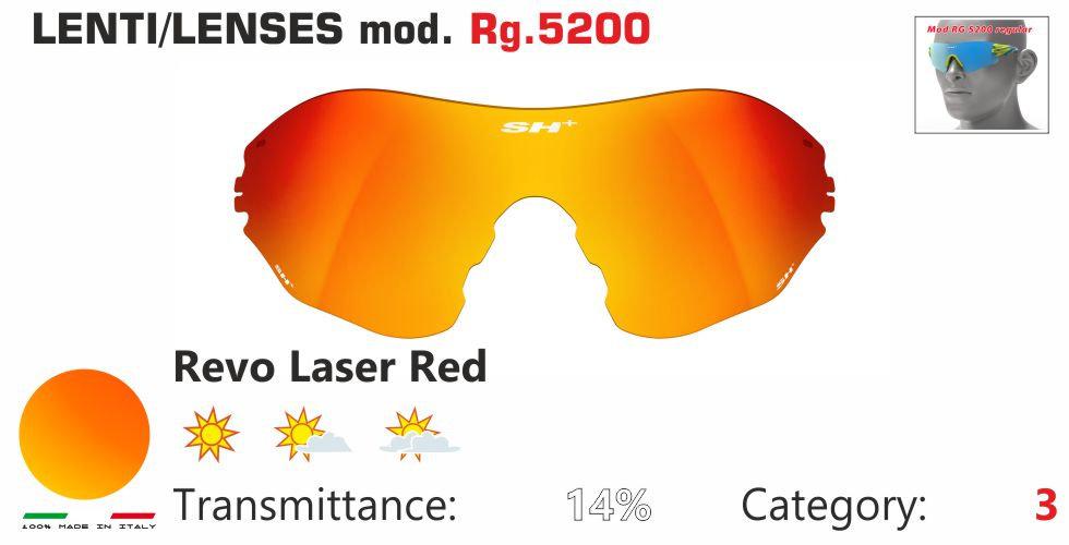 RG 5200 LENS/LENTE REVO LASER RED