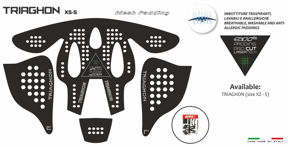 PADDING/INTERNO BLACK  TRIAGHON XS-S