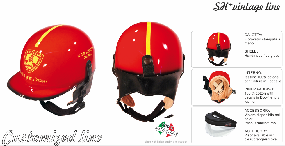 VINTAGE HELMET -CUSTOMIZED 1