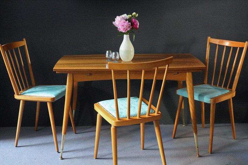 50er/60er Tisch/Esstisch | höhenverstellbar