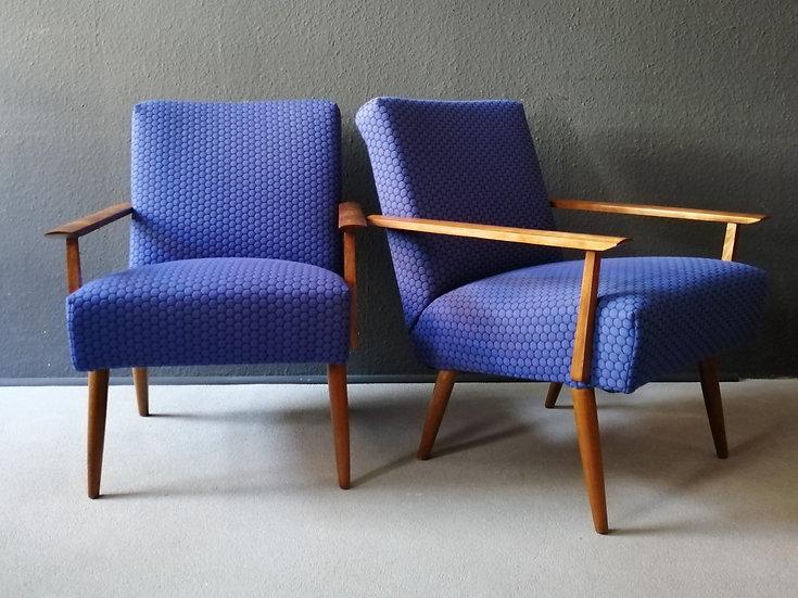 60er loungesessel | blueberry