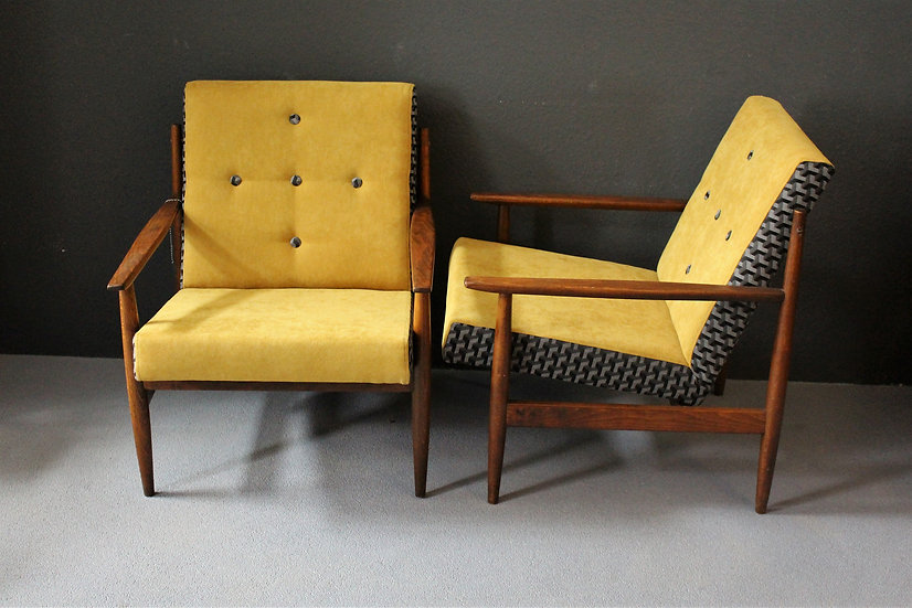 60er Loungesessel | Mid-century