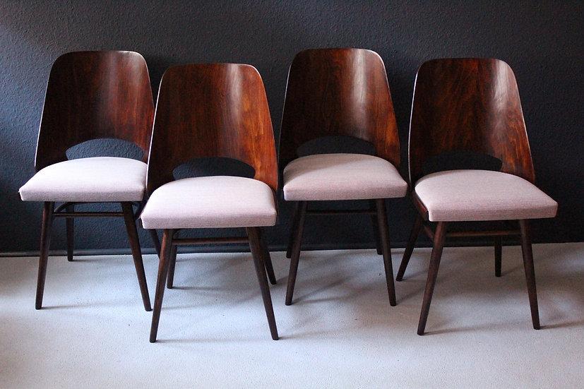 1960er stühle | radomir hofman für TON